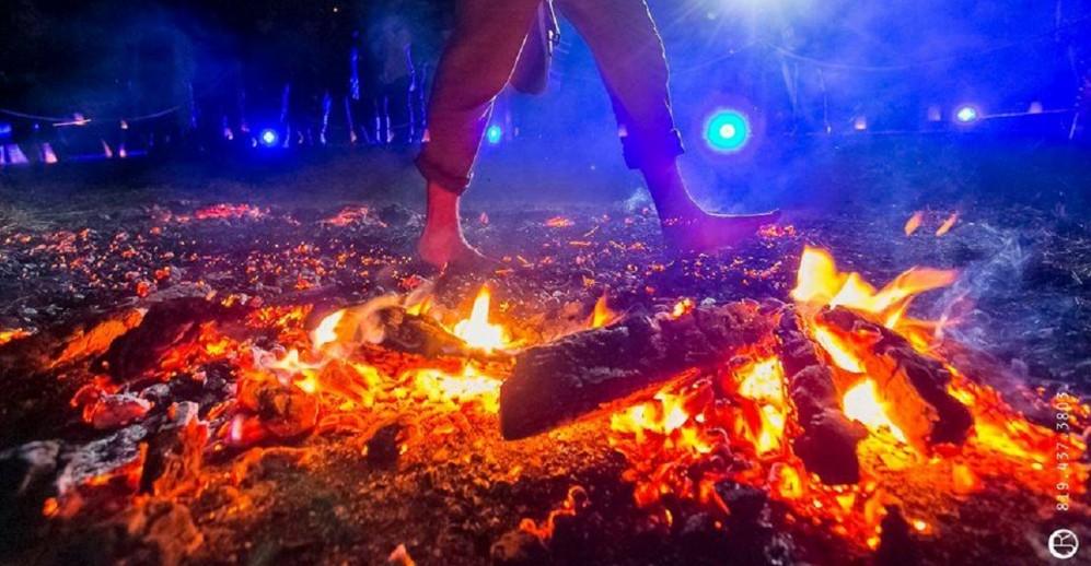 Marche sur le feu