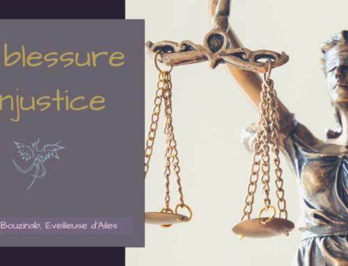 La blessure d'injustice